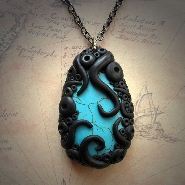 Tentacled Turquoise Agate…