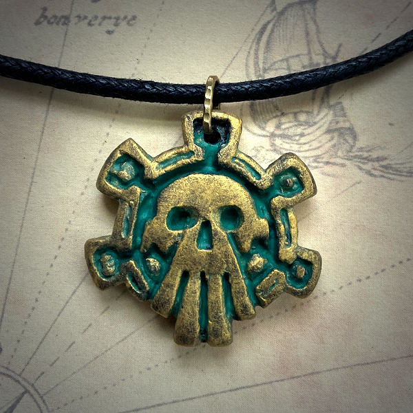 Aztec God of Death (brass…