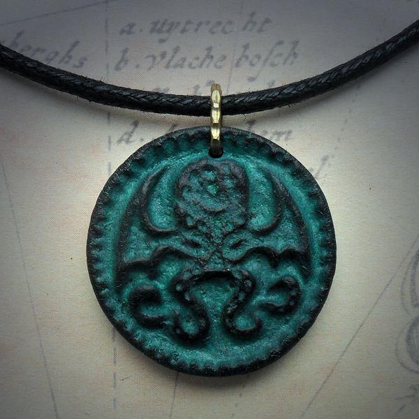 Cthulhu Medallion Necklace…