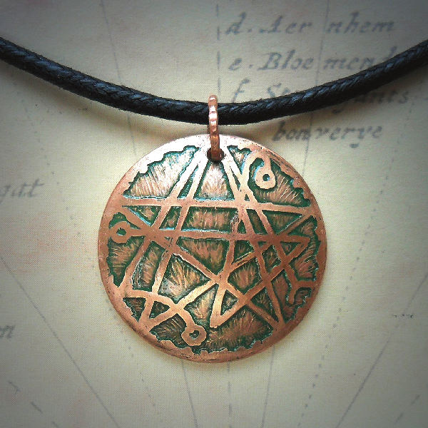Necronomicon Etched Copper…