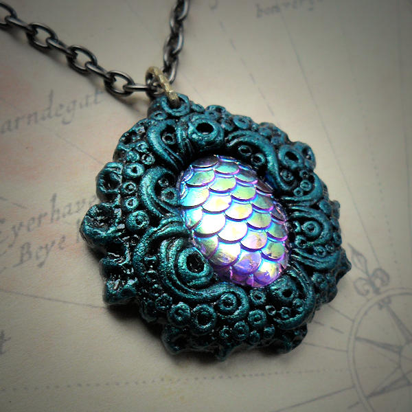 Aquatica Necklace (turquoise)