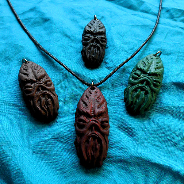 Cthulhu Idol Necklace