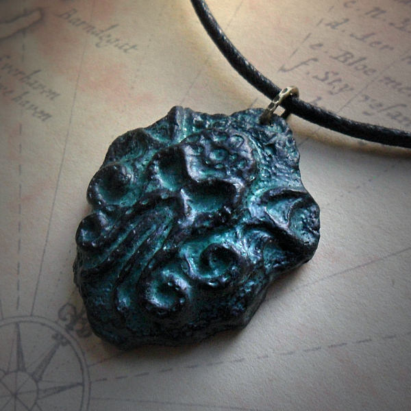 Cthulhu Stele Fragment (sea green)