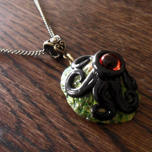 Cthuloid Limpet Necklace no.2