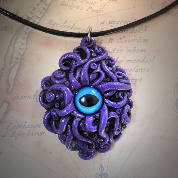 Cyaegha Necklace (purple)