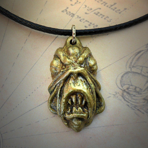 Golden Deep One Necklace