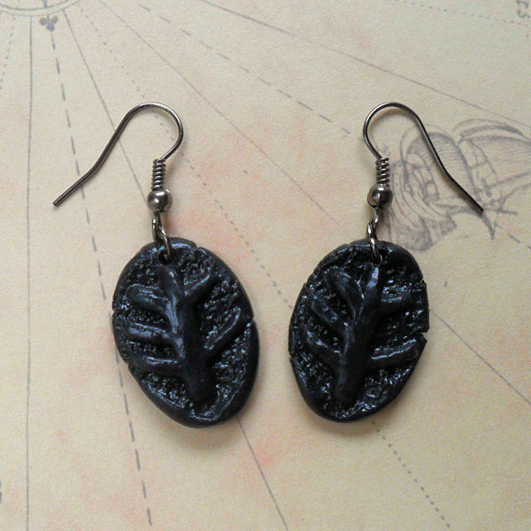 Elder Sign Earrings