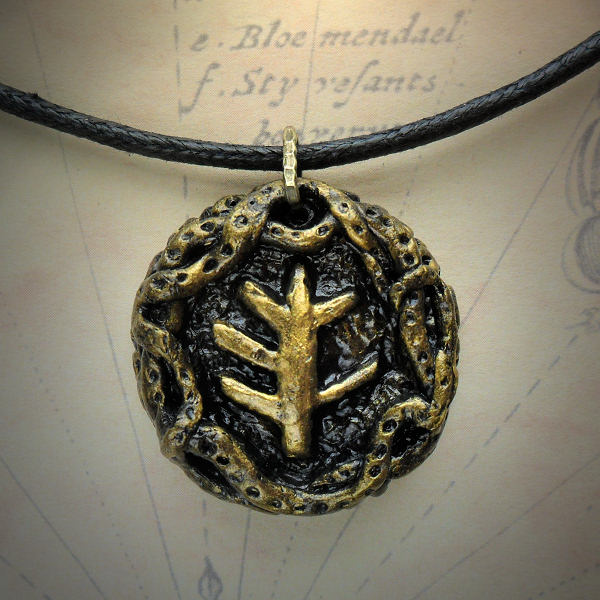Elder Sign Medallion Necklace