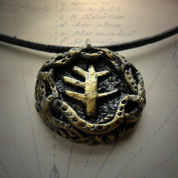 Elder Sign Medallion Necklace