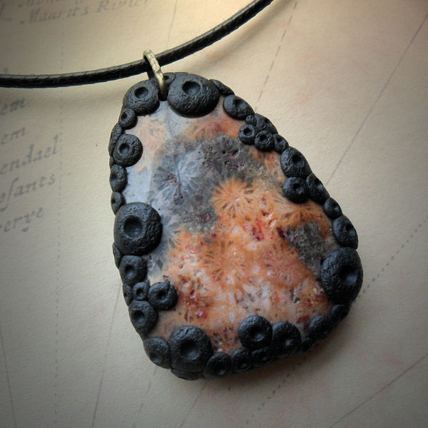 Fossil Agate Necklace