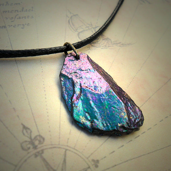 Iridescent Slate Necklace