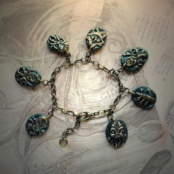 Lovecraftian Charm Bracelet