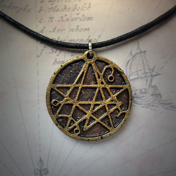 Necronomicon Necklace