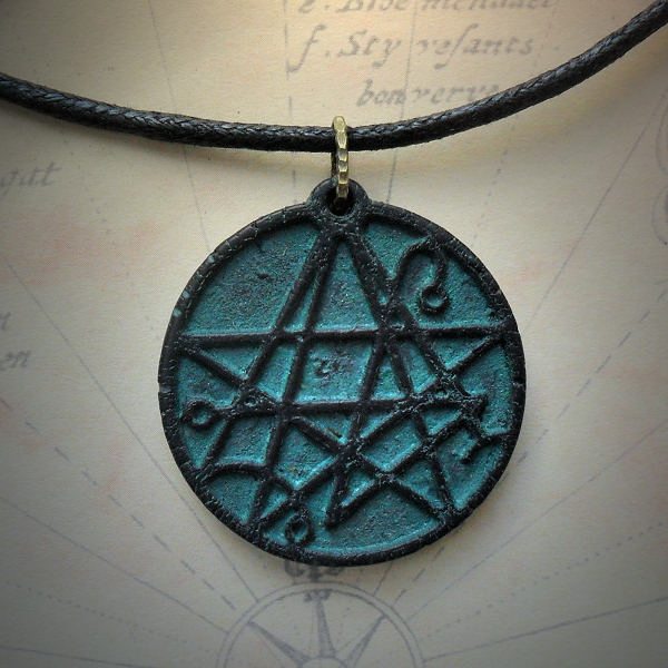 Necronomicon Necklace (sea…