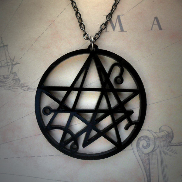 Necronomicon Gate Necklace