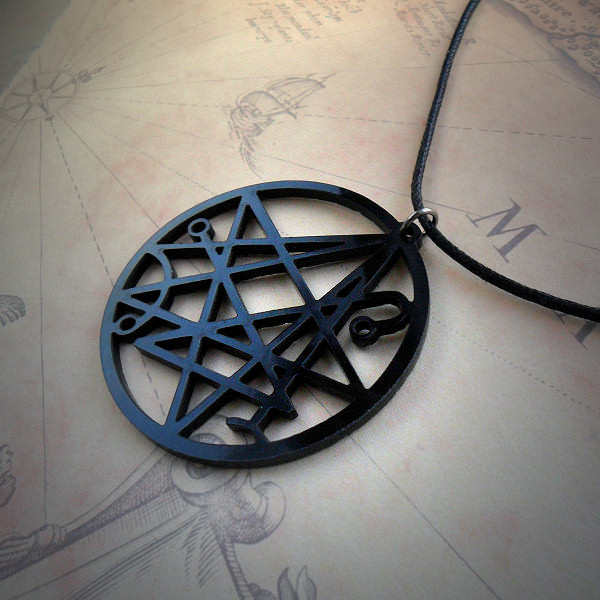 Necronomicon Gate Necklace | Cthulhu Jewellery