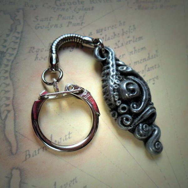 Tentacled Irregular Iridescent Necklace