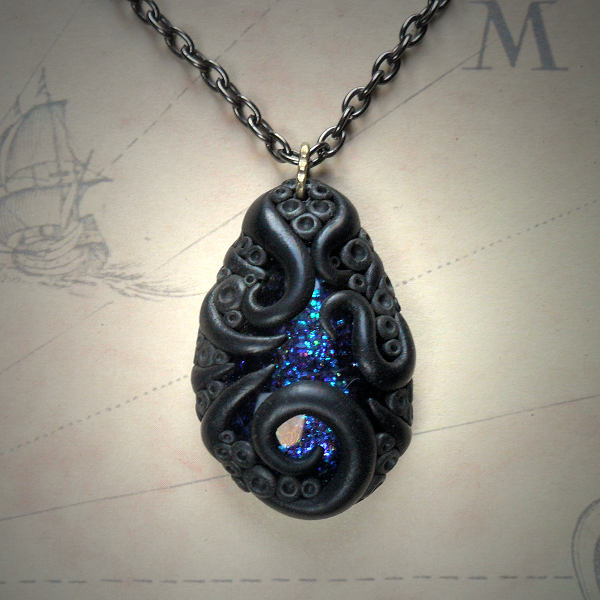 Tentacled Sapphire Glass…