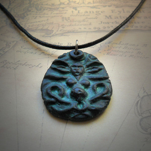 Shub-Niggurath Necklace in green