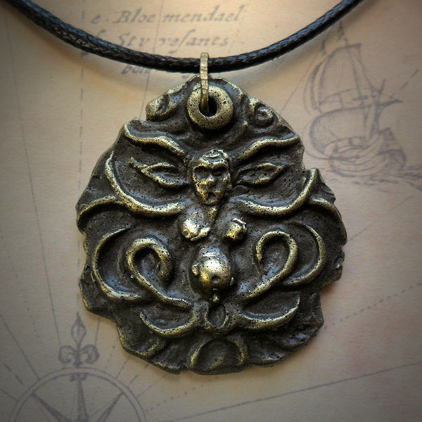 Shub-Niggurath Necklace in brass