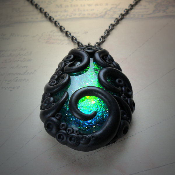 Tentacled Starfire Necklace