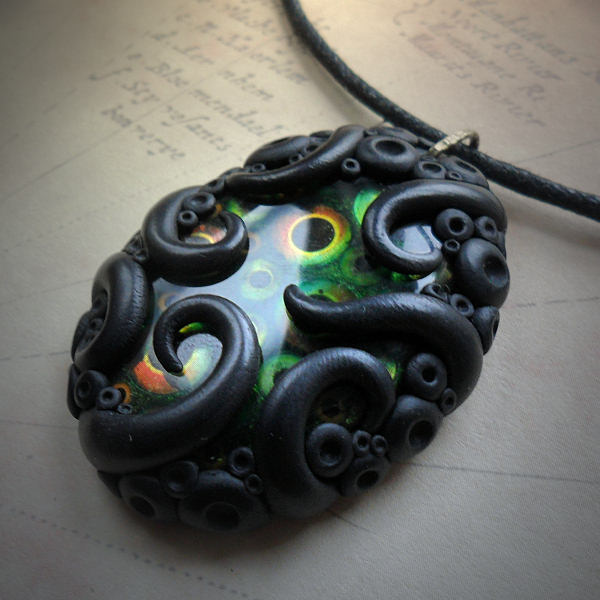 Tentacled Fisheye Necklace