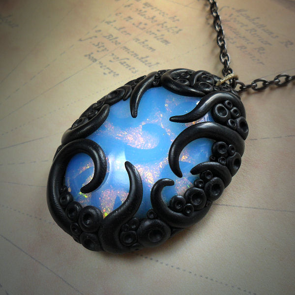 Tentacled Opalite Necklace (inner tentacles)